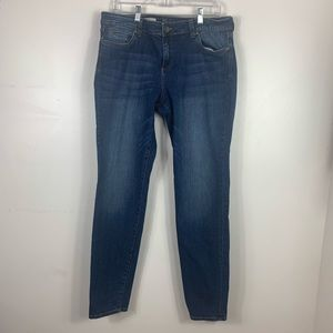 Kut from the kloth toothpick skinny jean size 14